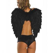 Крылья Ангела (Черные) Размер 60х60 см