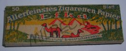 Сигаретная бумага Efka для солдат Вермахта, 40-е годы 20-го века (оригинал)