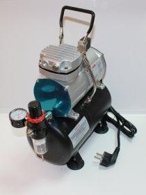 Компрессор 1208, с регулятором давления, автоматика, два режима работы, ресивер