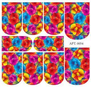 Слайдер-дизайн для ногтей № 0054
