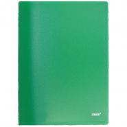 Папка с бок.прижимом Proff CF901-03 зеленая 0.6мм