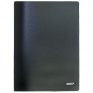 Папка с бок.прижимом Proff CF901-06 черная 0.6мм