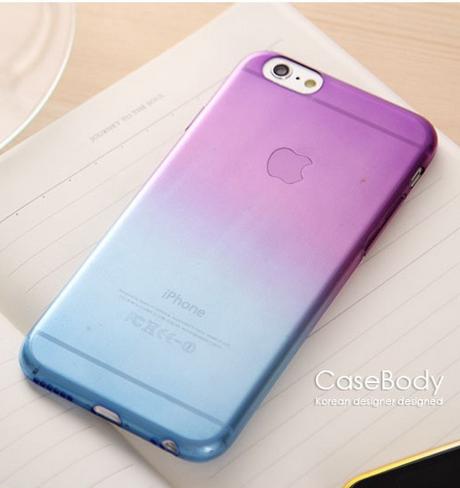 Полиуретановый чехол Superslim для iPhone 5/5s/5se  (V&B)