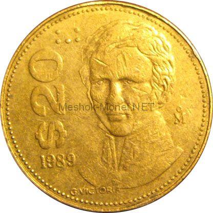 Мексика 20 песо 1988 г.