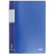 Папка с пр.вставк./40 Proff  DB40АВ-04 синяя.0,65мм