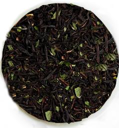 Мятный чай - черный чай с натуральным ароматизатором.