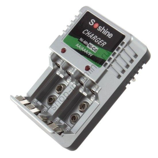 Зарядное AAA, AA, 9V тип Крона J505