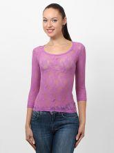 Кружевная прозрачная маечка блузка