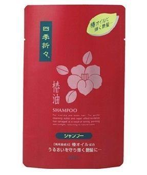 Японский шампунь с маслом камелии для сухих и поврежденных волос Deev Shiki-Oriori