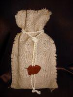 Мешочек с кофе (250 г.) - подарочный набор №28а