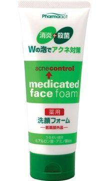 Японская пенка для умывания против черных точек (противовоспалительная) Deev Pharmaact