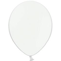 """Шар (5""""/ 13 см), белый, пастель, 100 шт"""