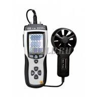 Анемометр CEM DT-8897 - купить в интернет-магазине www.toolb.ru цена и обзор, характеристики, измеритель скорости воздуха, cem-instruments.ru