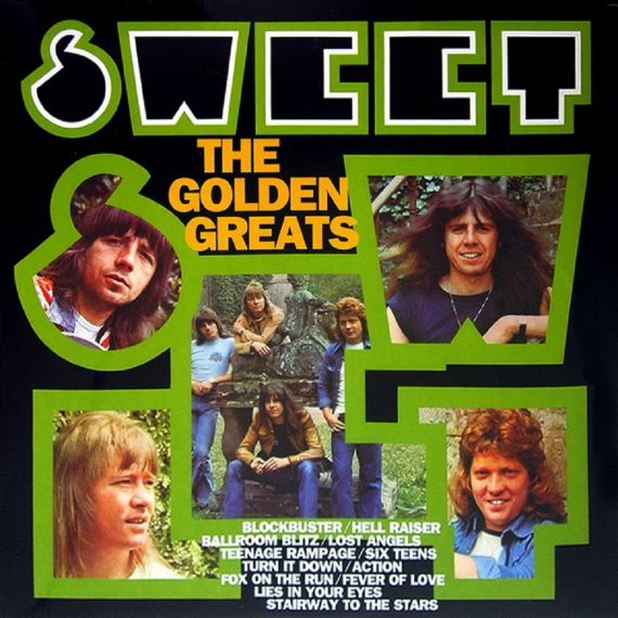 SWEET  The Golden Greats-1977 (2015)