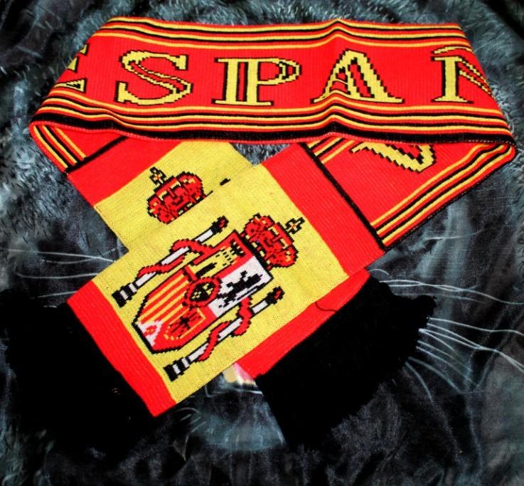 шарф сборной испании фото этом спартанцы