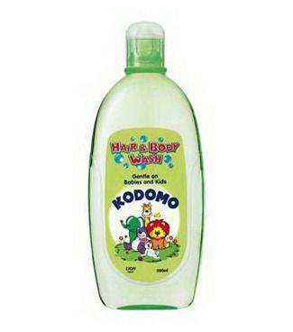 Японское средство для мытья От макушки до пяточек для детей Lion Kodomo