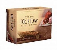 Корейское туалетное мыло Гранат и Пион CJ Lion Rice Day 100 гр