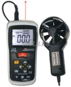 CEM DT-620 - измеритель скорости и потока воздуха