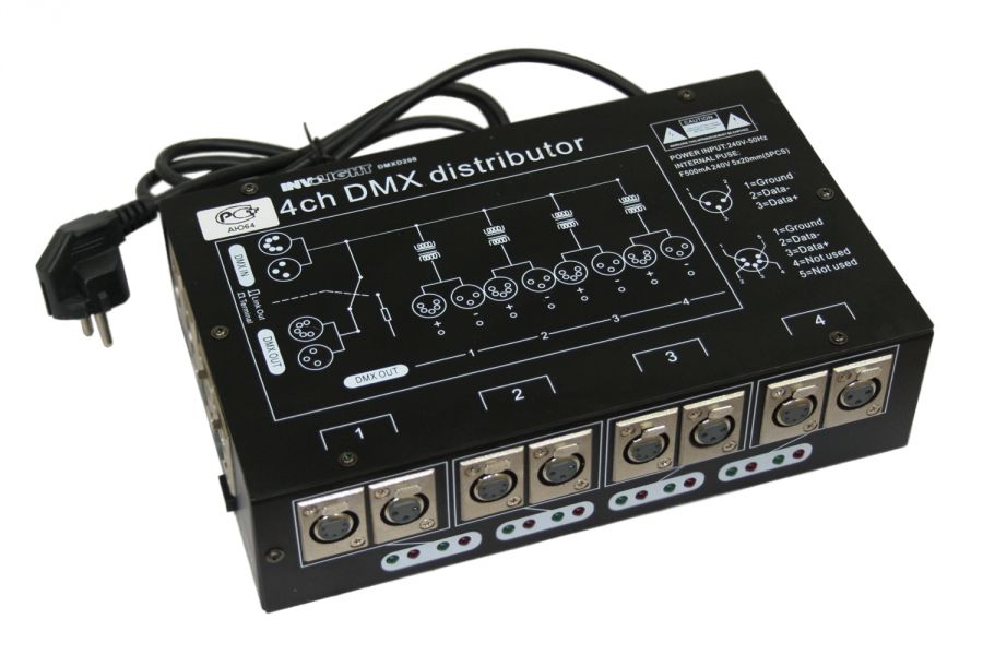 INVOLIGHT DMXD200 Сплиттер DMX сигнала