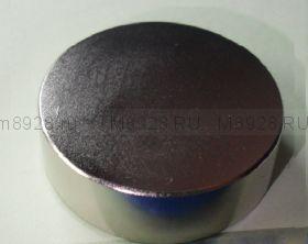 Магнит  45х15мм диск неодимовый N38 (52кг)