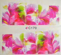 Водная наклейка для дизайна ногтей С 170