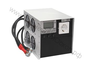 ИС1-24-4000 инвертор DC-AC с ЖК-индикатором