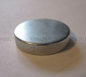 Магнит диск 19х h4мм