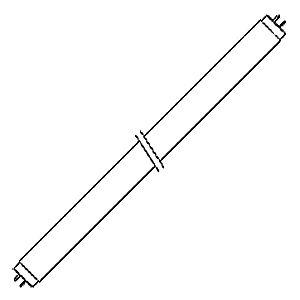 SYLVANIA BLB F18 T8  Ультрафиолетовая лампа