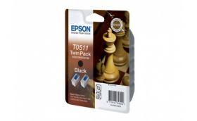 Набор из двух картриджей с черными чернилами для Epson Stylus Color 1160, 1520, 740, 760, 800, 750, 860 и Stylus Scan 2000, 2500
