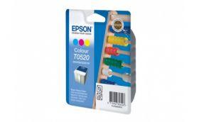 Набор цветных картриджей для Epson Stylus Color 1160, 1520, 740, 760, 800, 750, 860, 400, 440, 460, 600, 640, 660, 670 и Stulys Scan 2000, 2500