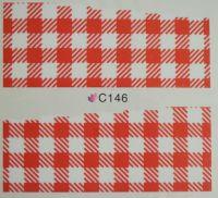 Водная наклейка для дизайна ногтей С 146
