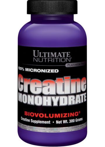ULTIMATE NUTRITION 100% Micronized Creatine Monohydrate 300гр. скл 2 1-2дня