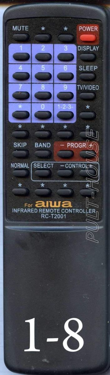 Пульт для Aiwa RC-T2000 (TV/VCR)