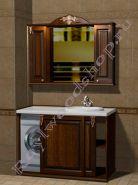 """Мебель для ванной """"Глазго-С КОМБИ-L орех"""""""