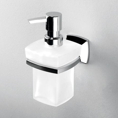 WasserKraft К-2599  Дозатор для жидкого мыла стеклянный, 230 ml