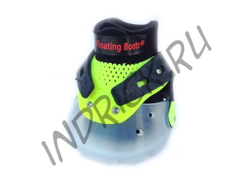 Ботинки Floating Boots, желтый + прозрачный