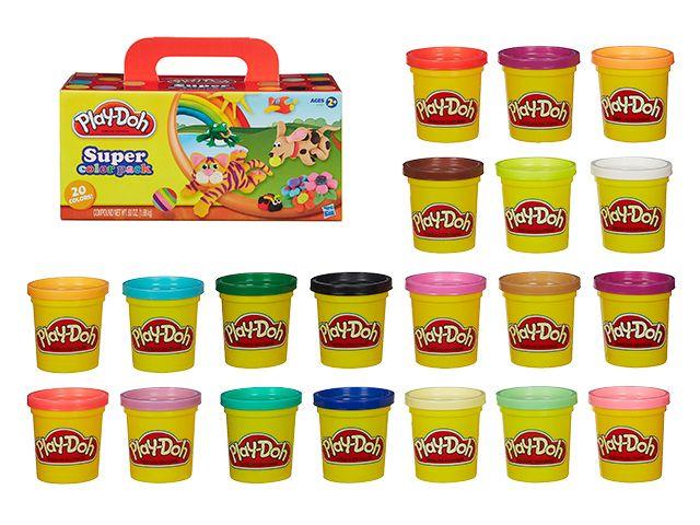 Набор пластилина  20 банок Play-Doh Hasbro