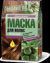 """fito косметик"" Маска для волос ORGANIC OIL на основе масла бергамота и оливкового масла для сухих и поврежденн, 30 мл"