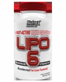 Nutrex Lipo-6 (240 капс.)