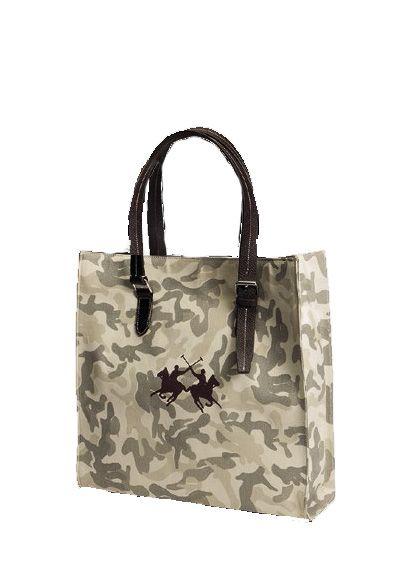 """Холщовая сумка """"Horse Comfort"""" милитари"""