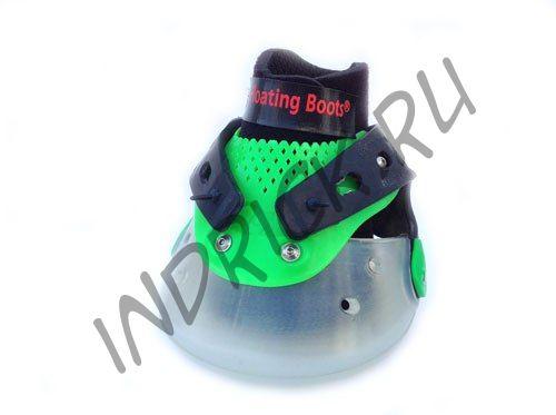 Ботинки Floating Boots, зеленый + прозрачный
