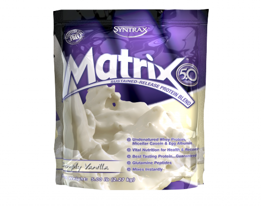 SYNTRAX Matrix 5.0 (2,27кг.) - ваниль cкл2  1-2 дня