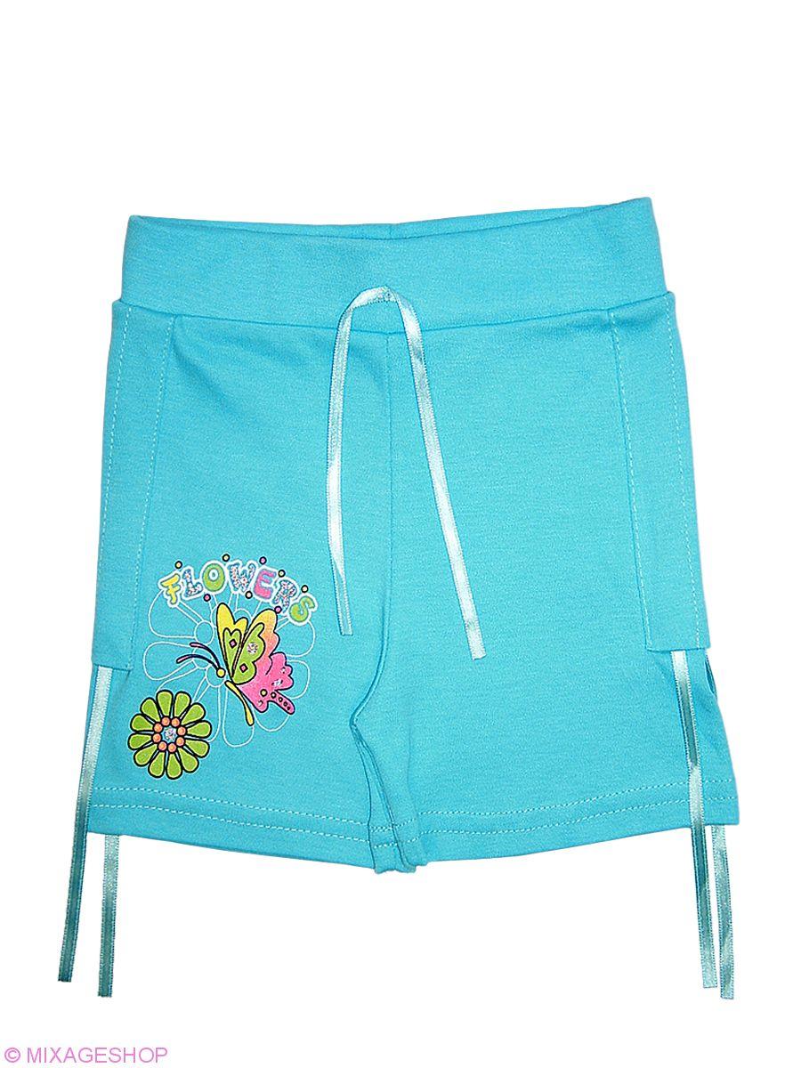 Яркие летние шорты с печатным рисунком