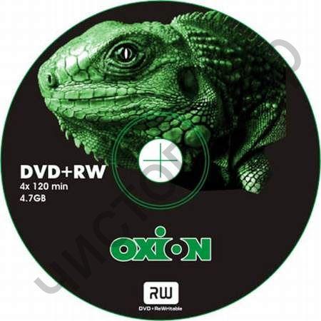 "OXION DVD+RW 4.7Gb  4x ""Игуана"" SP-100"