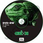 "OXION DVD+RW 4.7Gb  4x ""Игуана""  CB-10 банка по 10шт. СУПЕРЦЕНА !!!"