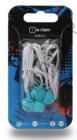 Наушники OXION EPO101 синие (вакуум, 20-20kHz, 102±3dB, 32 Ом, шнур 1,2м)(EPO101BL)