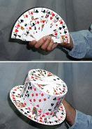 CARD FAN to Card Top Hat Карточный веер превращается в цилиндр