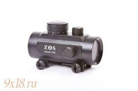 Коллиматорный прицел закрытого типа ZOS 1x30 RD