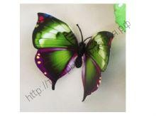 бабочка пластиковая 7см №1