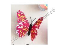 бабочка пластиковая 7см №3